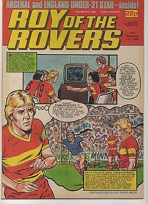 ROY OF THE ROVERS 31st MARCH 1984 EXCELLENT CONDITION