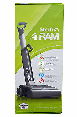 New & Sealed GTECH AR02 AirRam Cordless Upright Bagless Vacuum Cleaner