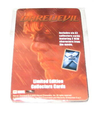 DAREDEVIL and X-Men 2 promotional collectors cards Ben Affleck