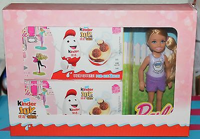 limitierte Sonderpackung Barbie China 2x3 Pack + 1 Barbie Puppe 14cm  Variante 2