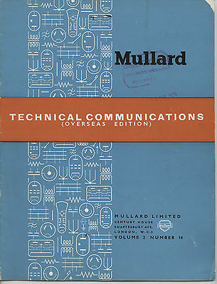 Mullard - Technical Comunications - Volume 2 - Number 14 - Agust 1955