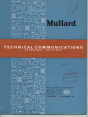 Mullard - Technical Comunications - Volume 2 - Number 13