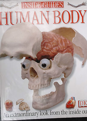 DK Inside Guides - HUMAN BODY HB Book - An extraordinary look from inside out