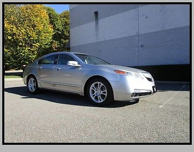 2010 Acura TL Base Sedan 4-Door 10 Acura TL Leather Moonroof Heated seats One Owner Clean fax Low Miles Mint