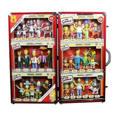 The Simpsons 25th Anniversary Bendable Figures Limited Edition Mega Set