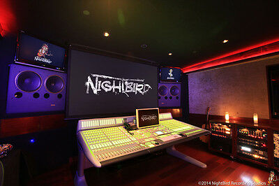 MC 10-Hr Recording Session at NightBird Recording Studios w/ Recording Engineer