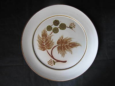 Denby Cotswold Pattern Salad Plates Pottery - Stoneware Tableware