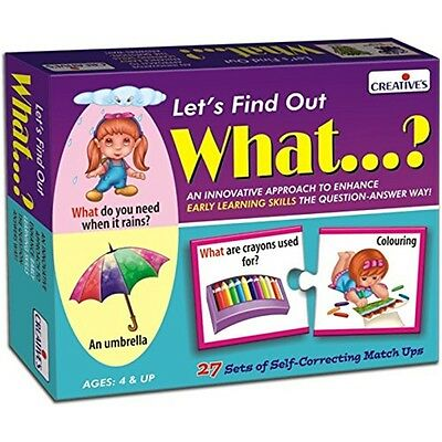 Pre-school Let's Find Out - What? Game - Creative What? Kids Educational Early