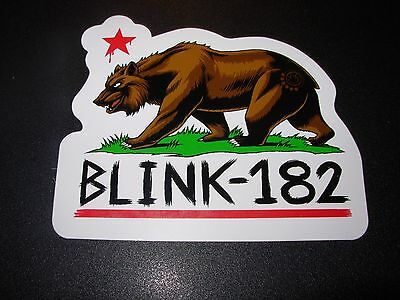 BLINK 182 California Bear Logo Sticker Decal Skate skateboard