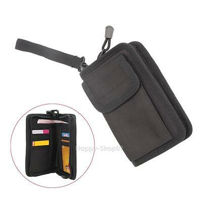 Outdoor Waterproof Tactical Military Wallet Card Key Phone Pouch Holder Bag Case