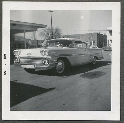 Vintage Car Photo Custom Hot Rod 1958 Chevrolet Impala Chevy 721171