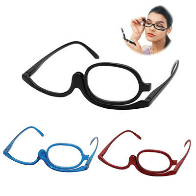 Magnifying Glasses Makeup Reading Glass Folding Eyeglasses Cosmetic +1 to +4.0