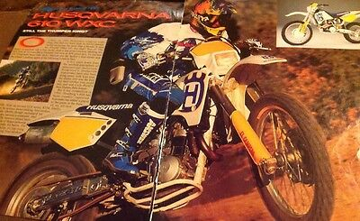 4 Pages 1993 Husqvarna 610 WXC Motorcycle Road Test Report