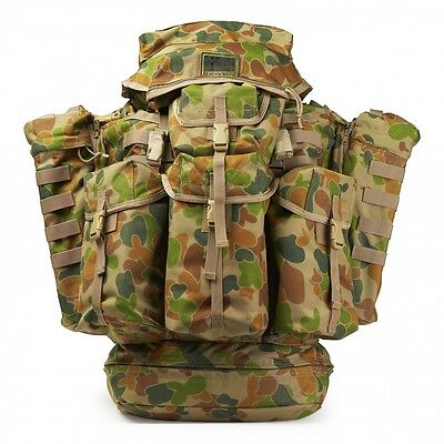 ALICE Large Field Pack Auscam MK16 Complete - Without Frame, Military, Army