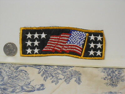 Post WWII US Navy Flag Cuff Title Insignia Patch