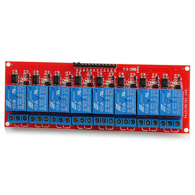 New 8-Channel 5V Relay Module Switch Board For Arduino Official Blue