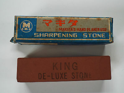 VINTAGE MAKITA HAND PLANER SHARPENING STONE- Made in JAPAN