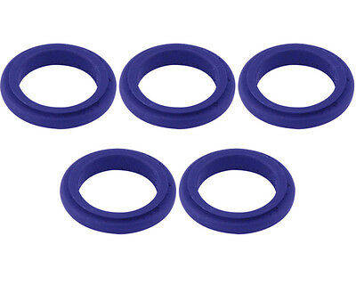 5 Blue 17mm x 5mm Alloy Wheel Spacers Prokart Cadet  UK KART STORE