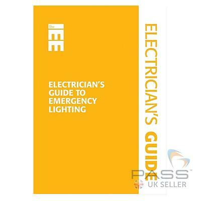 *NEW* IET Electrician's Guide to Emergency Lighting /  BS 5266
