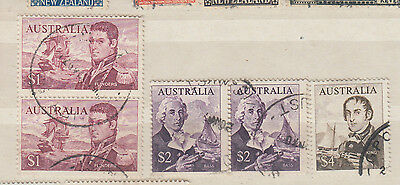 A nice Australian Navigators Decimal group with Two Pairs