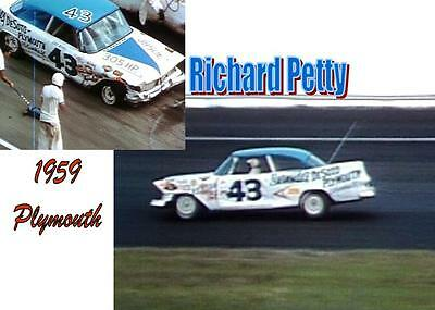 CD_815 #43 Richard Petty '59 Plymouth  1:25 Scale Decals
