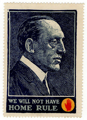 (I.B) Ireland Political : We Will Not Have Home Rule (1912)