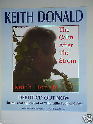 Keith Donald Moving Hearts Concert Gig Poster 1999 Unreleased Printers Poster