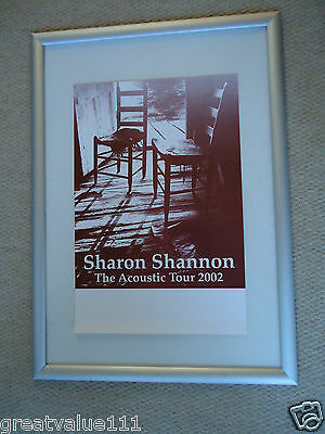 Sharon Shannon The Waterboys Concert Gig Poster 2002 Unreleased Printers Poster