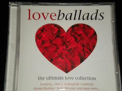 Ballads - The Love Songs Collection - CD Album - 2003 -18 Great Tracks