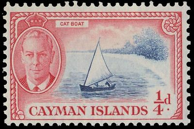 "CAYMAN ISLANDS 122 (SG135) - King George VI ""Catboat"" (pa57808)"