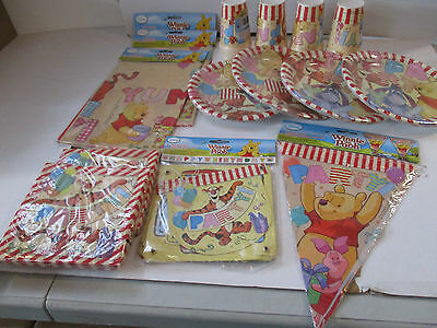 Winnie The Pooh Tableware & Decorations for Children - Create Your Party Pack