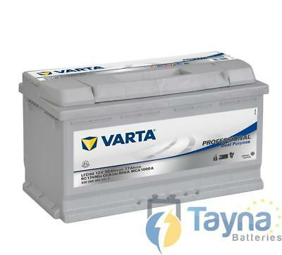 LFD90 Varta 12V 90Ah Deep Cycle batterij Leisure Caravan Marine Boat