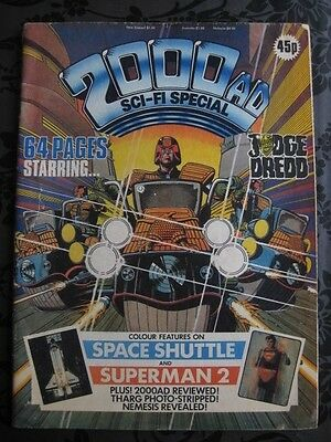 2000 AD SCI-FI SPECIAL  JUDGE DREDD 1981 Comic