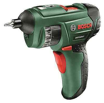 Bosch PSR Select Cordless Lithium-Ion Screwdriver with 3.6 V Battery, 1.5 Ah
