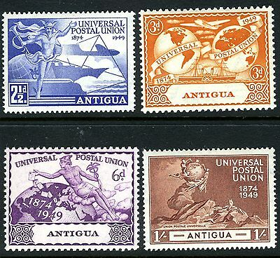 Antigua 1949 Upu Set Very Lightly Mounted Mint Sg 114/117