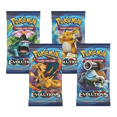 1x Pokemon XY Evolutions Booster Pack of 10 Cards