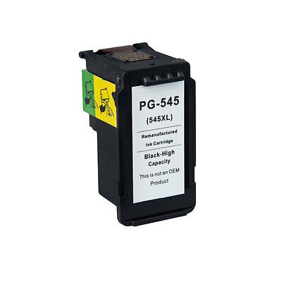 Remanufactured Canon PG-545 XL Black Ink for PIXMA iP2850 MG2450 MG2455