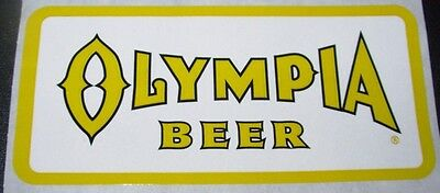OLYMPIA BEER Pabst Rectangle Logo STICKER decal craft beer brewery brewing