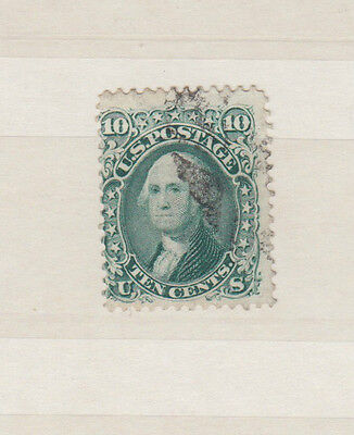 A very nice United States 12 Cents Green Washington 19th Century issue