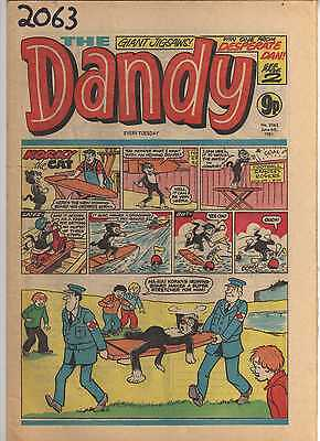 THE DANDY No 2063 JUNE 6th 1981 GOOD TO FAIR CONDITION