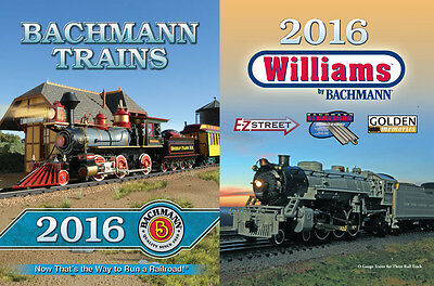 Bachmann Spectrum & Williams N, HO, On30 and G Scale 2016 Train Catalog 99816