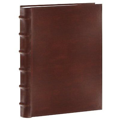 Pioneer Photo Albums 200-Pocket Leather Photo Album for 5x7 Prints, Brown