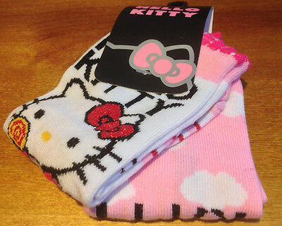 4 pairs of childrens Hello Kitty socks, UK 6-8.5, EU 23-26