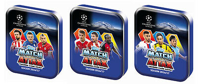 2016/2017 Topps UEFA Champions league mini tin
