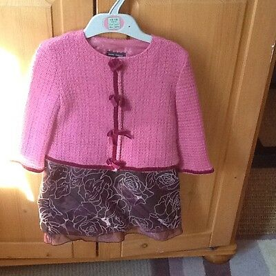 Fab girls jacket and skirt twin set age 2 year