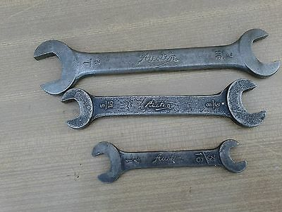 Set Of 3  Vintage,austin ,toolkit Spanners, For Old Austin Classic Car,toolkits,