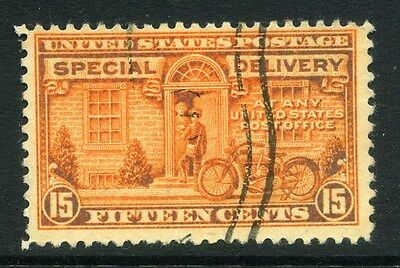 USA;   1922 early Special Delivery Stamp 15c. used value
