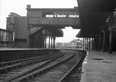 Photo  Lms Lancaster (Green Ayre)  Railway Station 1967  Looking Towards The Sig