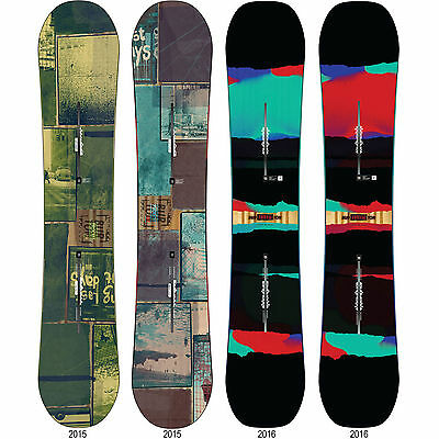 Burton Process Camber Off Axis Freestyle Snowboards ICS Channel 2015-2016 NEW