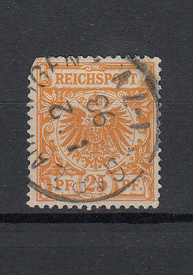 Germany Deutsches Reich Nr 49 25 Pf Eagle. Fine used.